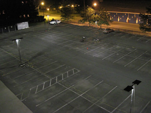Parking Lot Lighting With Improved Uniformity Research