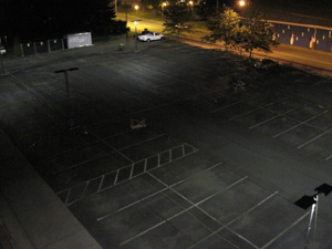 Parking Lot Lighting Uniformity