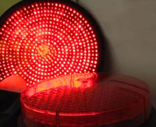 LEDs in a traffic signal system