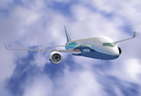 Boeing 787 Dreamliner concept