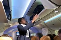 Boeing 787 interior architecture concept