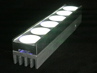 Photo: LED fixture with SPE technology implemented.