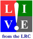 LIVE! from the LRC logo