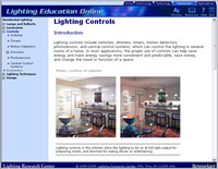 Lighting Education Online Web site