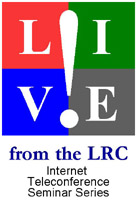 Graphic: LIVE! From the LRC logo
