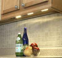LED-based under-cabinet light fixture