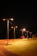 Street lighting used in mesopic lighting field study
