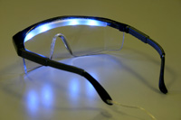 Light-treatment goggles